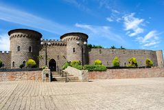 Kryal castle, outside Ballarat, a medieval style Royalty Free Stock Image