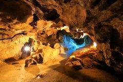 Krychtaleva cave Stock Photos
