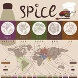 Krydda av världen - part1 Fotografering för Bildbyråer