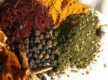 krydda för 3 mix Royaltyfri Foto