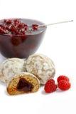 krydda för cakesfruktdriftstopp Royaltyfria Bilder