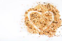 Krydda för enformad soppa royaltyfri bild