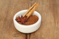 Krydda i en ramekin royaltyfria bilder