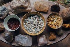 Krydda mat, Sri Lanka arkivfoton