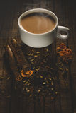 kryddad tea Arkivfoto