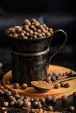 Kryddafrö och pulver Royaltyfri Foto