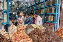 Kryddan shoppar Fotografering för Bildbyråer