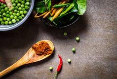 kryddar grönsaker Fotografering för Bildbyråer