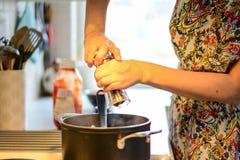Kryddar maten Royaltyfri Fotografi