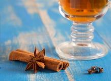 kryddar tea Royaltyfria Foton