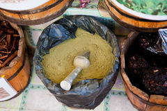 kryddar teas Royaltyfria Bilder