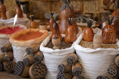kryddar uzbekistan Royaltyfria Bilder