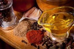 kryddar variation Arkivfoton