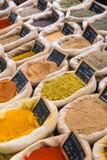 kryddar variation Fotografering för Bildbyråer