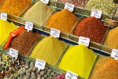 Kryddasouk i Dubai Royaltyfria Bilder