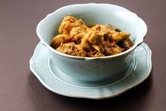 Kryddig feg curry arkivfoton