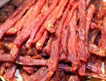Kryddig kallad coppiette för kött mycket typisk kulinarisk specialitetnolla Royaltyfri Foto