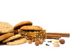 kryddig krydda för cakejulmuttrar Royaltyfria Bilder