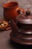 kryddig tea Arkivbild