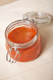 kryddig tomat för jarsås Fotografering för Bildbyråer