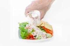 kryddig tonfisk för sallad Royaltyfria Bilder