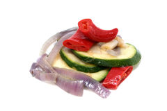 kryddig zucchini Royaltyfri Bild