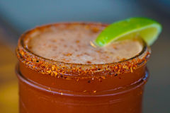 Kryddiga Margarita Drink arkivfoton