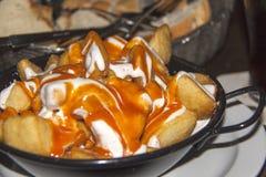 kryddiga potatisar Arkivbilder