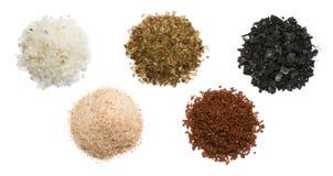 Kryddigt salta arkivfoto