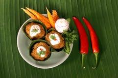 kryddigt thai för mat Royaltyfria Bilder