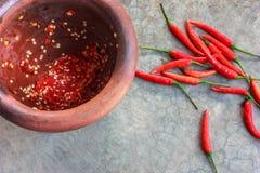 kryddigt thai för mat Arkivfoto