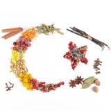 Kryddor örter, Turkiet, TÃ-¼rk Bayrağı Arkivfoto