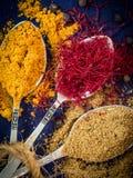 kryddor Arkivfoton