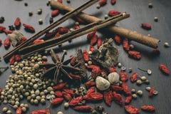 kryddor Fotografering för Bildbyråer