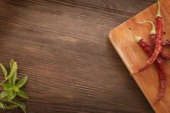 Kryddor för att laga mat Arkivfoto