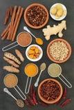 Kryddor för förlorande vikt royaltyfri foto