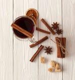 Kryddor för mulled wine Royaltyfri Fotografi