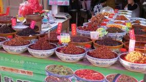 Kryddor i Chengdu royaltyfri foto
