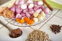 Kryddor och örtar Royaltyfria Bilder