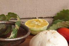 Kryddor och köksmaktillsats arkivbild