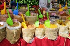 Kryddor och marknadsplats Royaltyfria Bilder