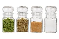 Kryddor och smaktillsatser royaltyfri foto