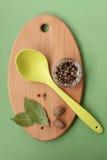 Kryddor och smaktillsatser arkivfoton