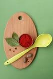 Kryddor och smaktillsatser royaltyfri fotografi
