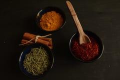 Kryddor på köket Royaltyfria Foton