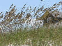 kryjówka na plaży obrazy royalty free