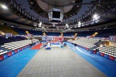 Krylatskoye Sports Palace, Basket-Hall Stock Photos