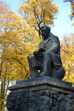 Krylov monument in Summer Garden Royalty Free Stock Images