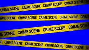 kryminalna scena zbiory wideo