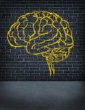 Kryminalny Umysł ilustracja wektor
